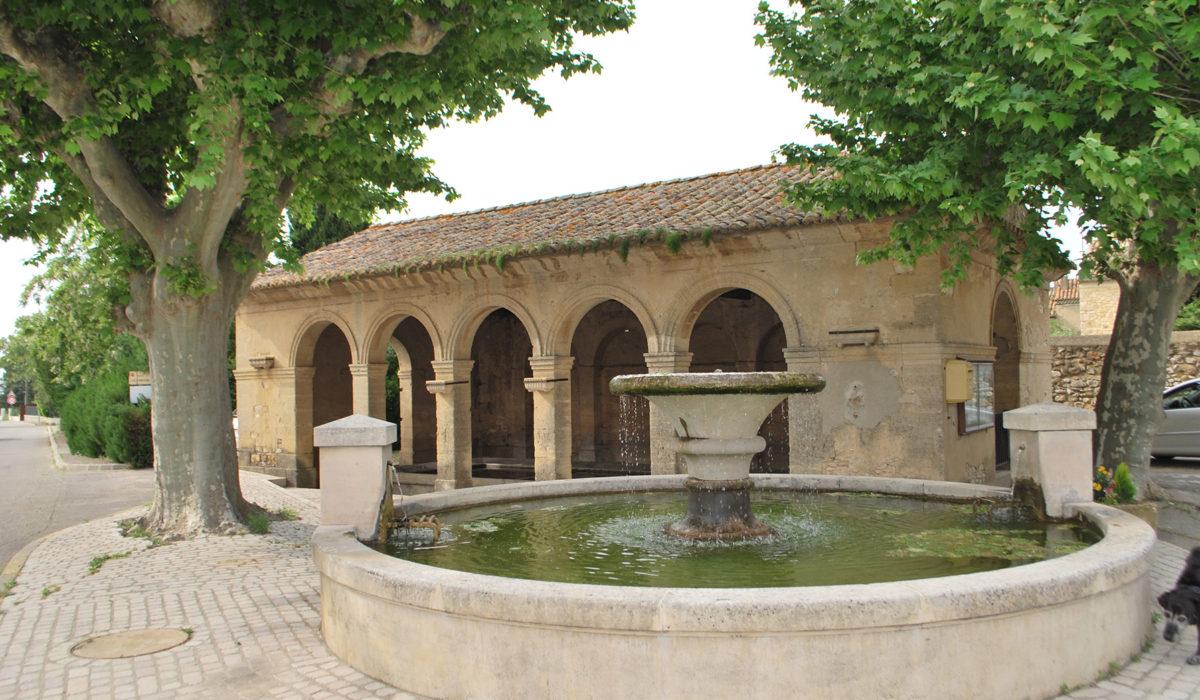 Fontaine Saint Victor la Coste