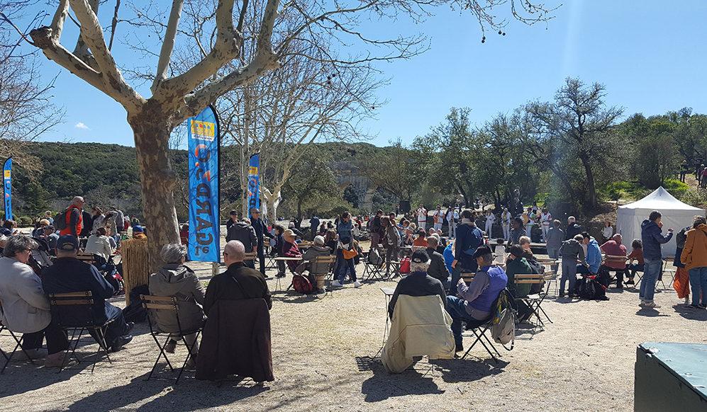 Musique au Pont du Gard