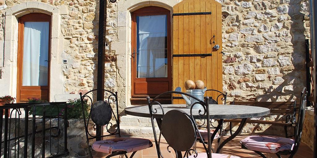 terrasse chambre Saint Victor