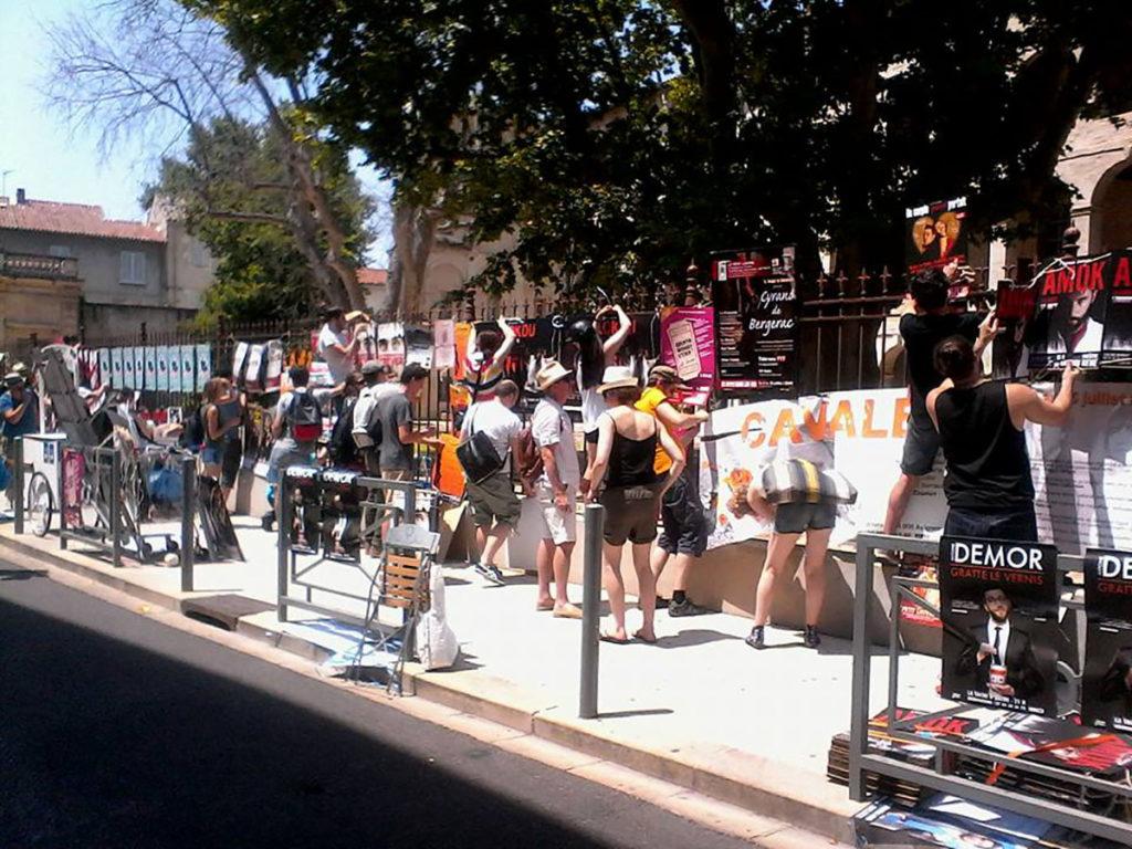 rue d'Avignon en festival