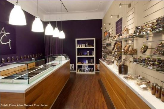 Boutique chocolaterie Aline Géhant